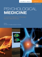 Psychological Medicine cover
